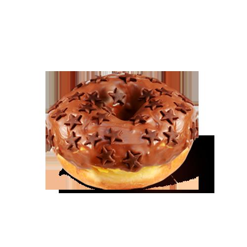შოკოლადის დონატი
